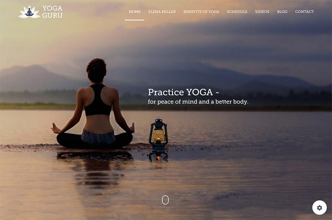 Yoga Guru HTML Theme by Propeller