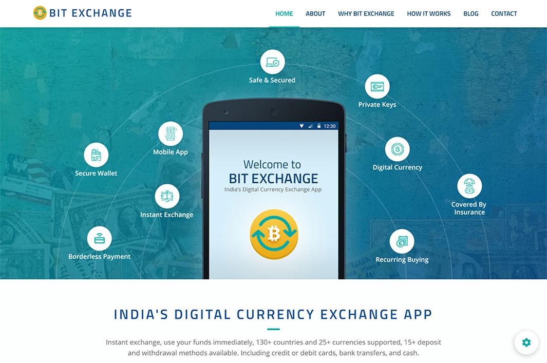 Bit exchange HTML Theme by Propeller